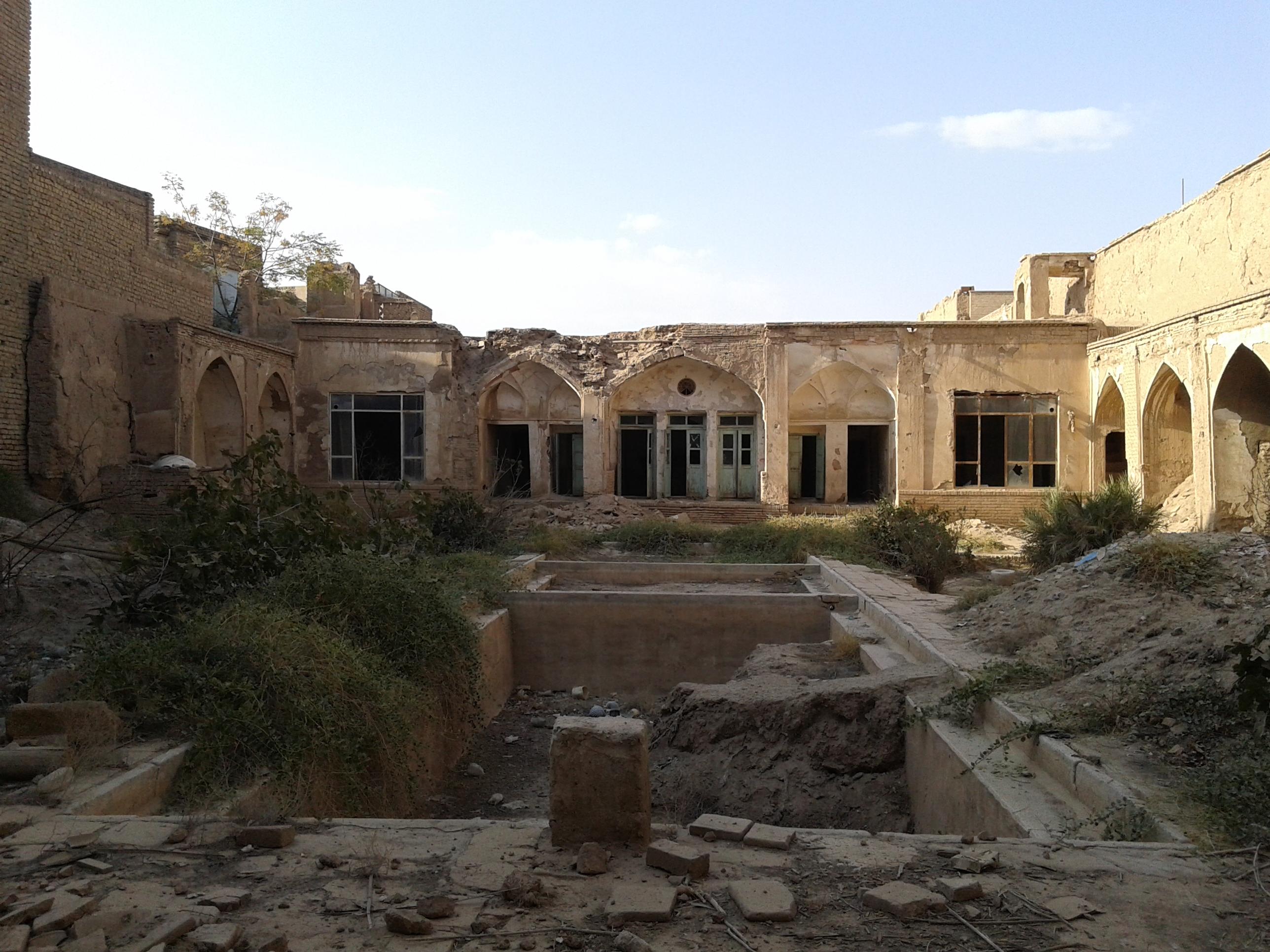 پروژه مرمت خانه تاریخی بافنده کاشان(پروژه مرمت ابنیه)